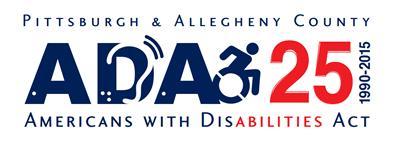 ADA 25 Pittsburgh Logo